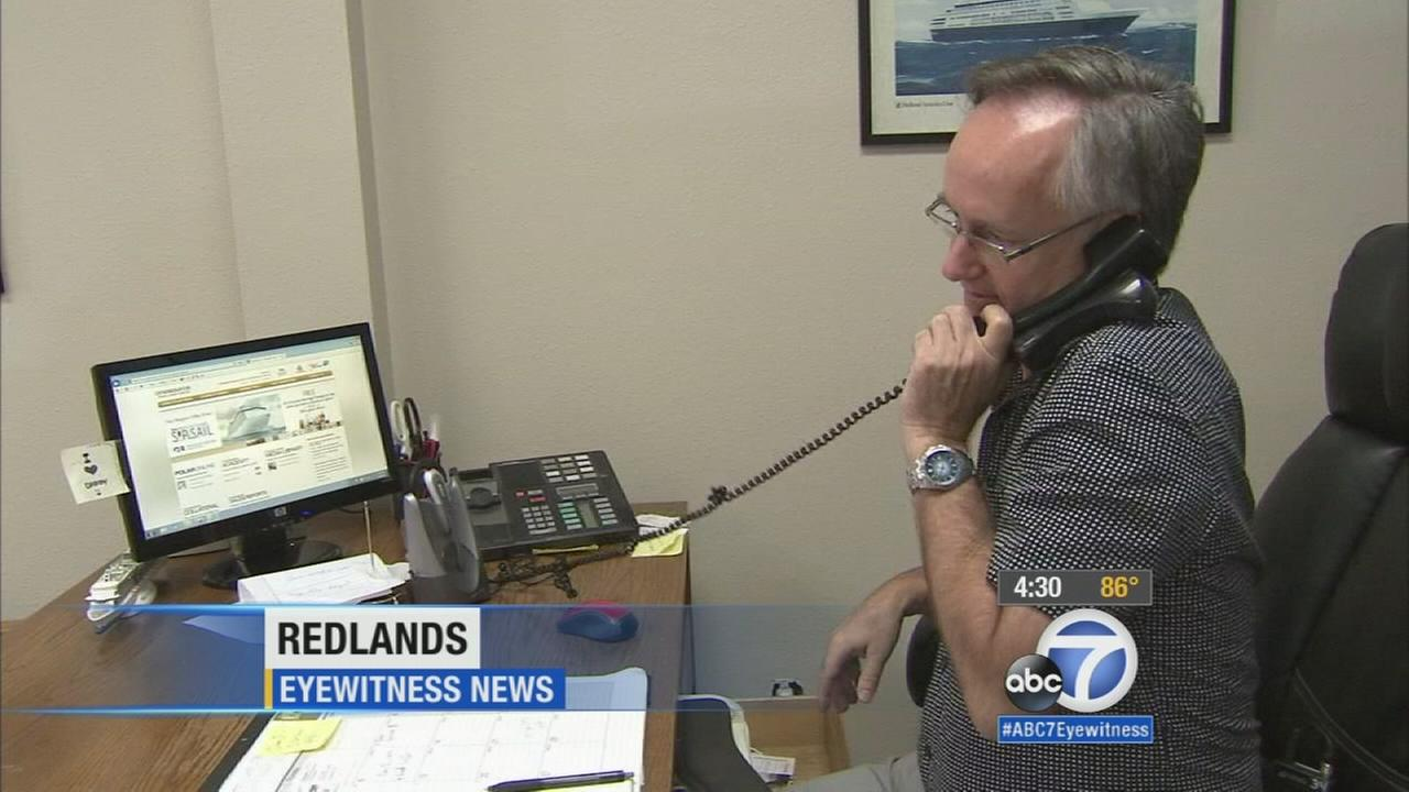 The owner of a family travel agency in Redlands received a shocking $117,000 phone bill after hackers took over his Verizon phone lines.
