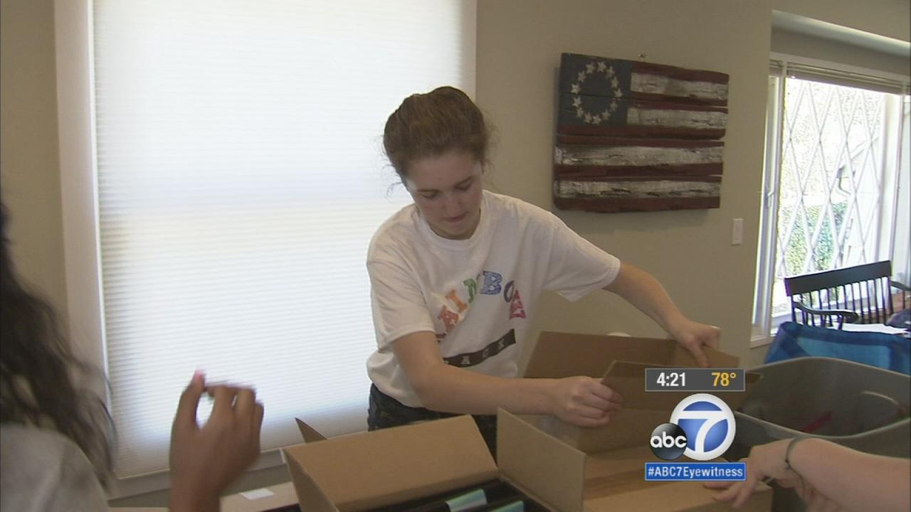 Our ABC7 Cool Kid for Thursday, August 6, is Riley Gantt, who delivers school supplies to students who cant afford them.