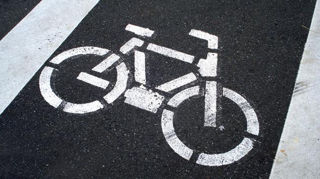 A bike lane is shown in this file photo.