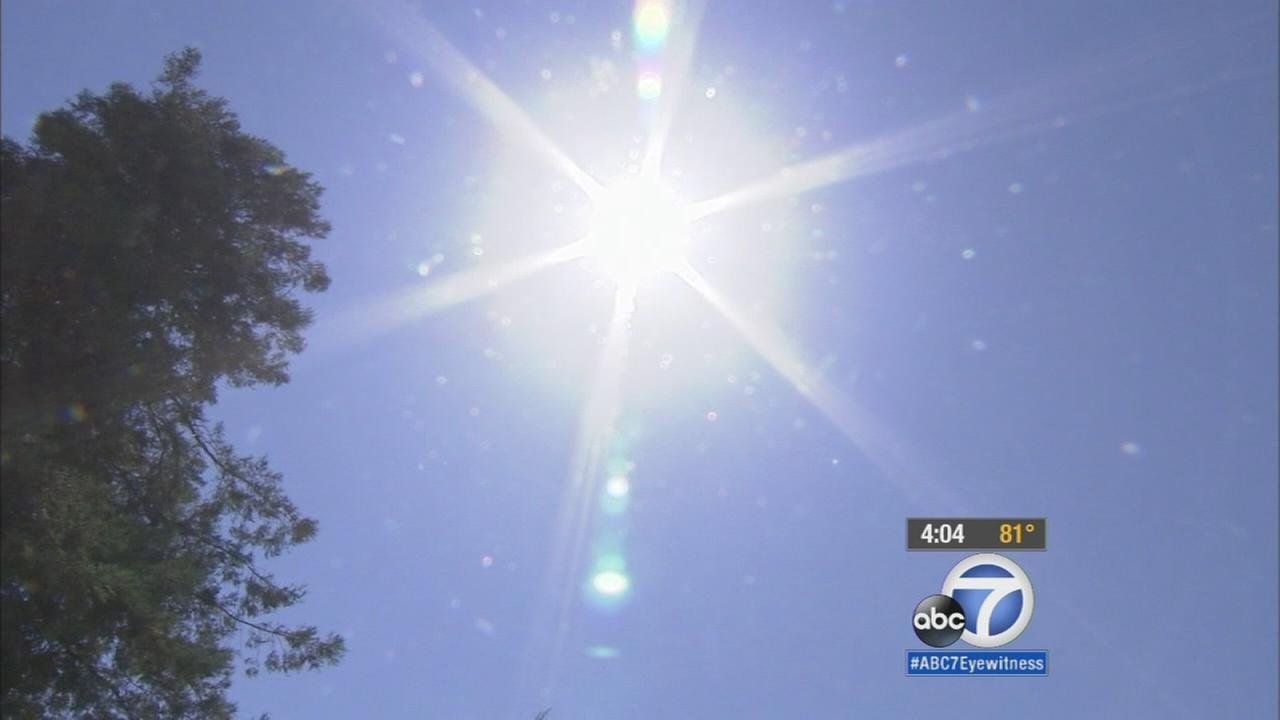 The heat wave across Southern California was expected through at least Sunday, the National Weather Service said.