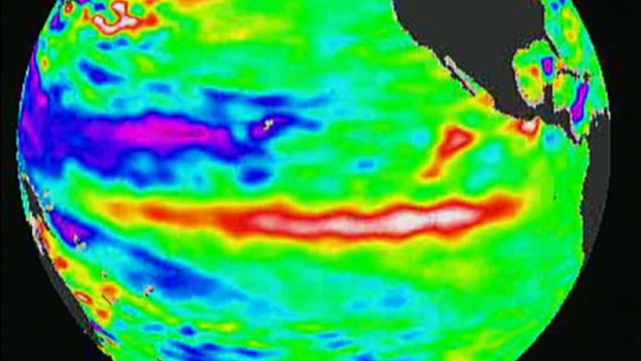 A National Weather Service Climate Prediction Center report predicts that a strengthening El Nino will bring once-in-a-generation storms to Southern California in 2015.