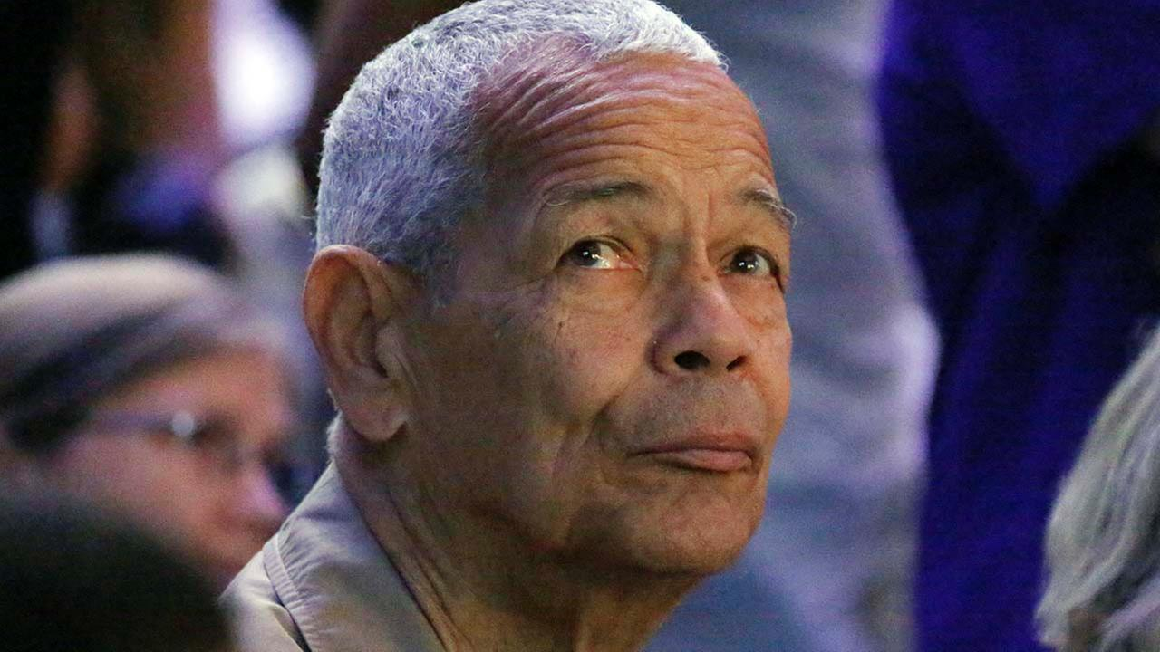 Julian Bond, a civil rights activist and longtime board chairman of the NAACP, died Saturday, Aug. 15, 2015.AP Photo/Rogelio V. Solis