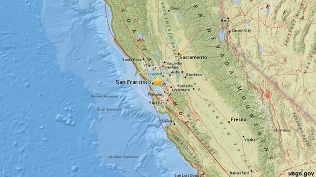 an earthquake with a preliminary magnitude of 4 0 struck the bay area around 7 a m monday