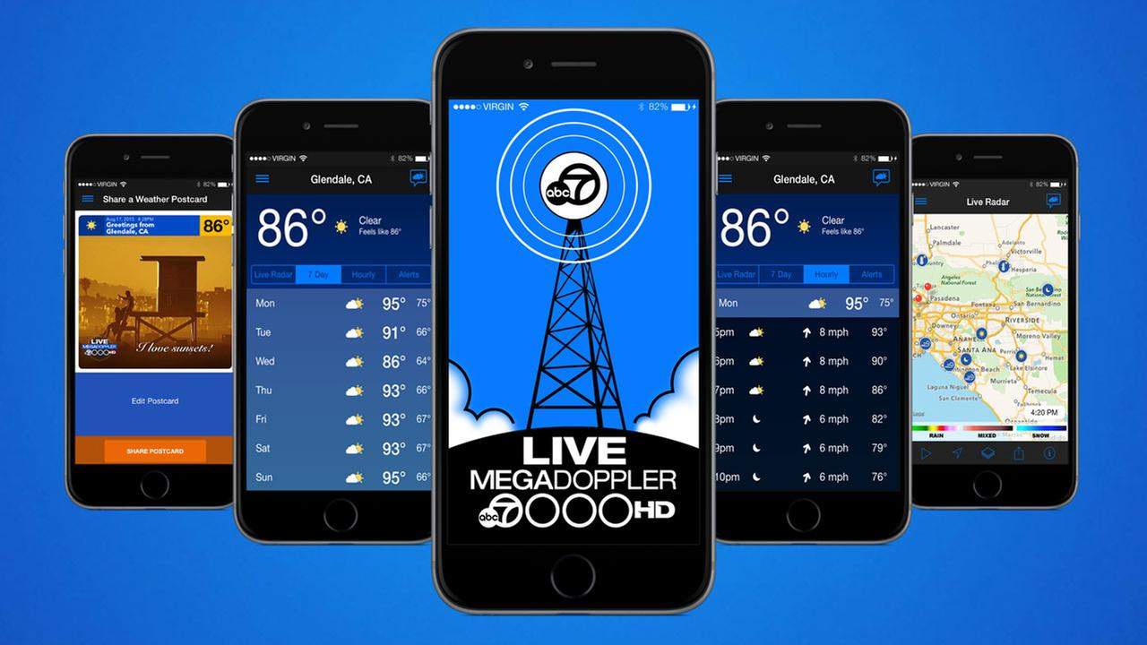 MEGADOPPLER Weather App