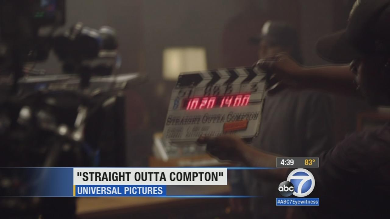 F. Gary Gray, the director of Straight Outta Compton, says hes proud of the NWA biopic, but watching the film brought out a range of emotions.