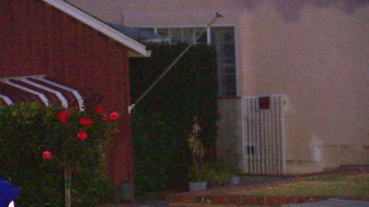 A La Crescenta home in the neighborhood where an armed robbery took place on Wednesday, June 4, 2014.