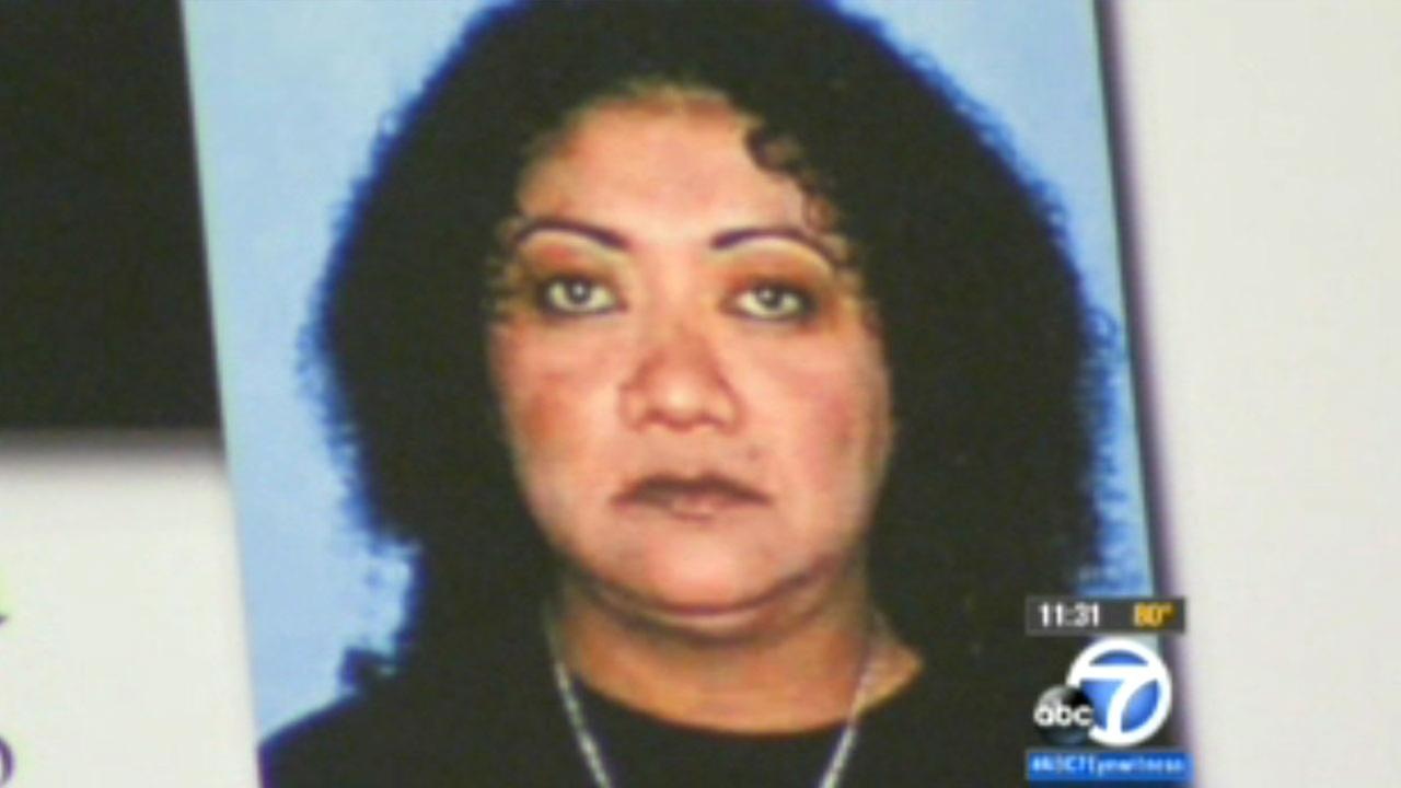 Remains belonging to Maria DelRefugio Chavez were found in the back yard of a Valinda home on Elsberry Avenue in August, 2015.