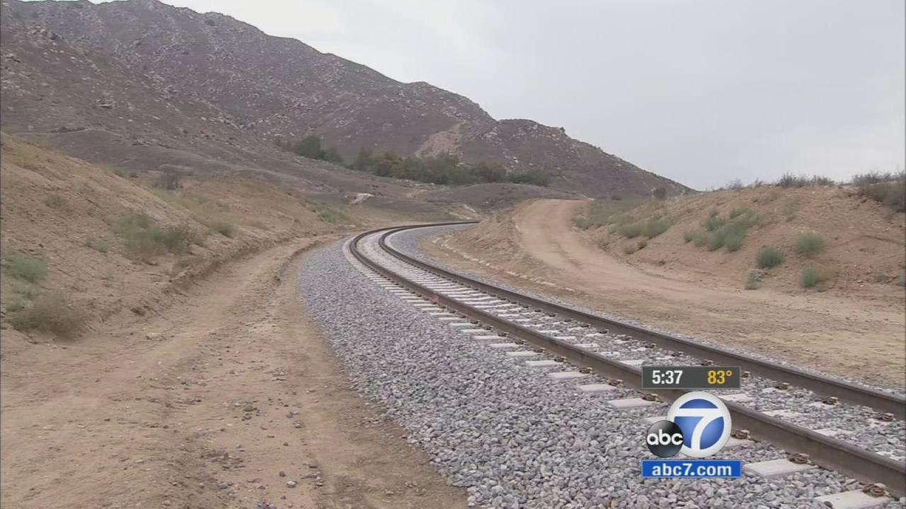 An unofficial train crossing that goes over the popular Big C Trail in Riverside is prompting concerns about the safety of hikers who cross the tracks to hike atop Box Springs Mountain.