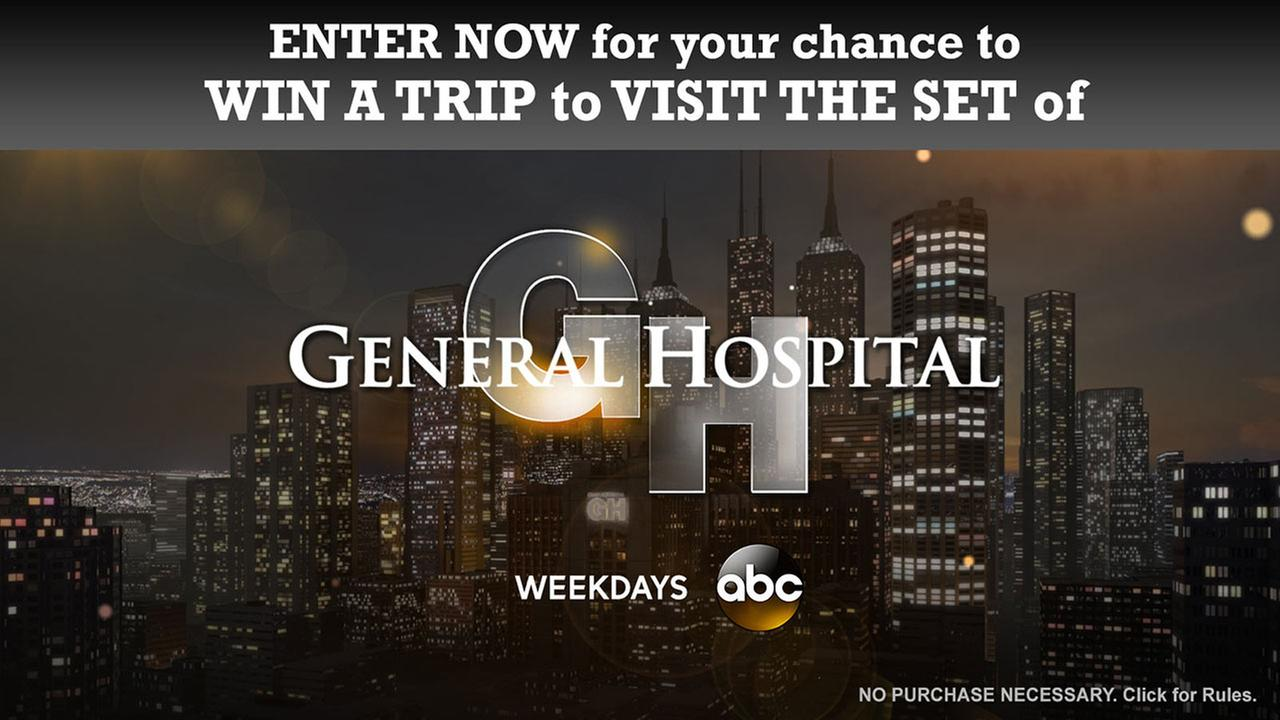 Win a visit to the set of General Hospital