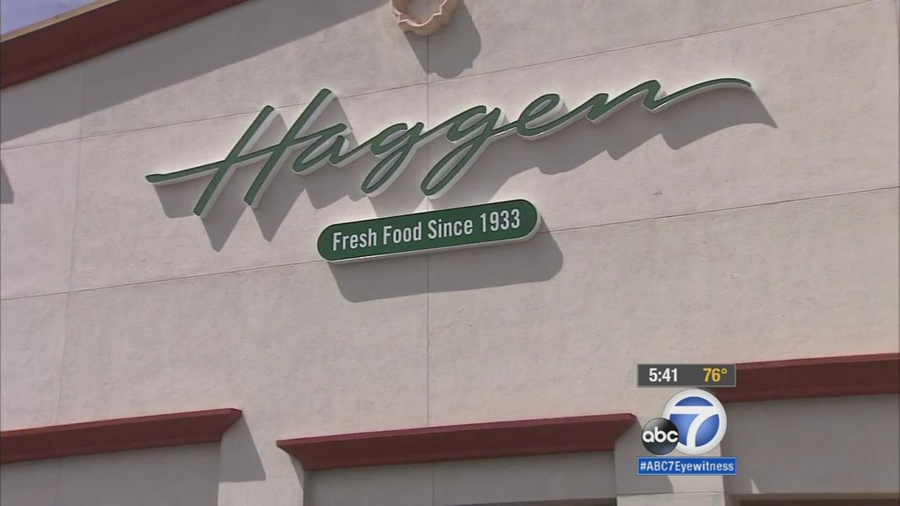 The small grocery-store chain Haggen sued Albertsons for more than $1 billion in damages over a grocery deal on Wednesday, Sept., 2, 2015.