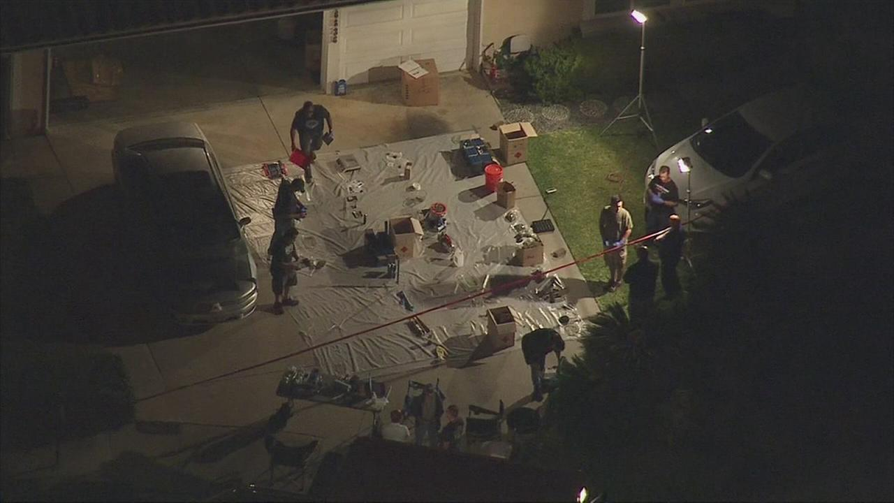 Los Angeles County sheriffs deputies discovered a marijuana extraction lab in the 16800 block of Twin Hill Drive in Hacienda Heights on Wednesday, Sept. 2, 2015.