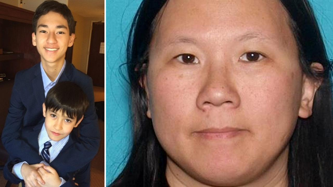 Sheriffs detectives believe Sage Cook, 14, and his brother Isaac Cook, 9, were abducted by their mother, Faye Ku, 41.