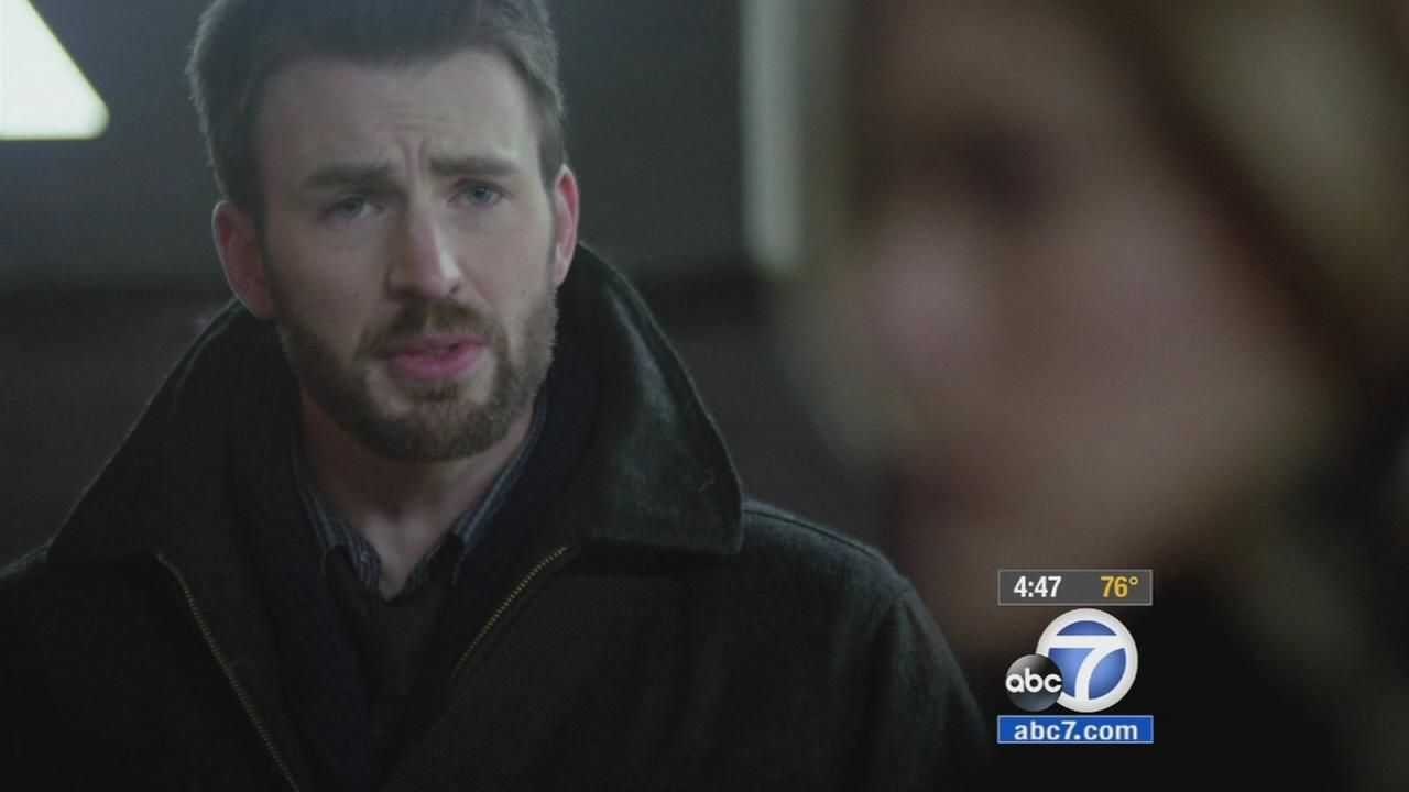 Actor Chris Evans stepped away from his Captain America shield and moved behind the camera to direct his new film, Before We Go.