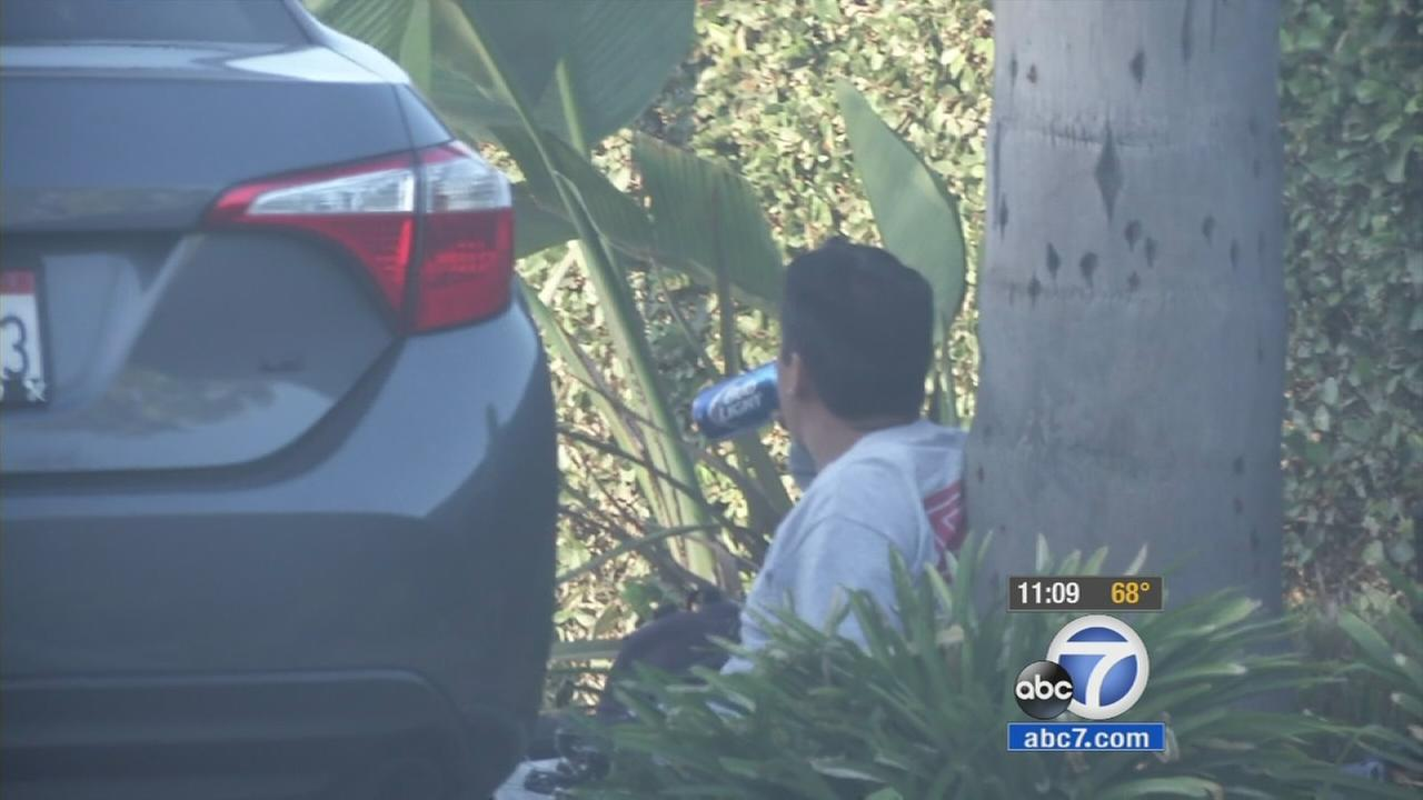 Santa Ana police took ABC7 on an exclusive ride-along Thursday night as they cracked down on underage and public drinking throughout the city.