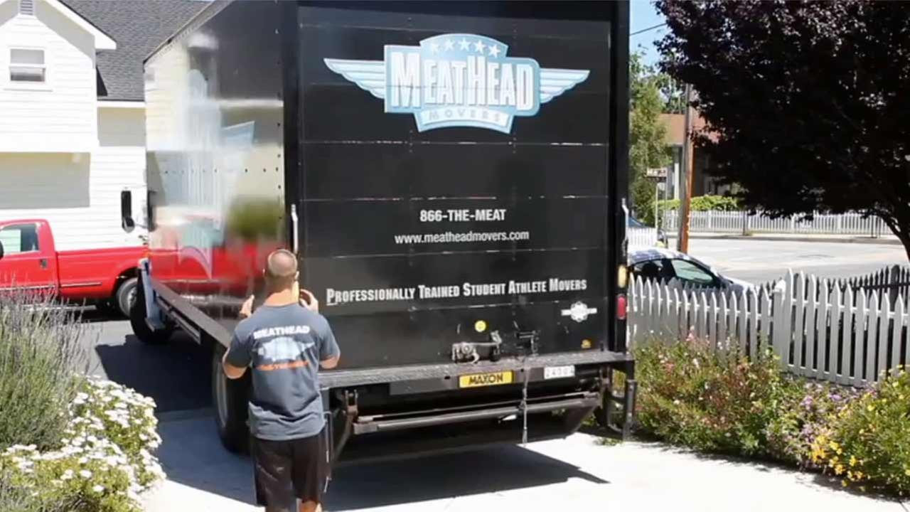 A moving company known as Meathead Movers helps victims of domestic violence start over.
