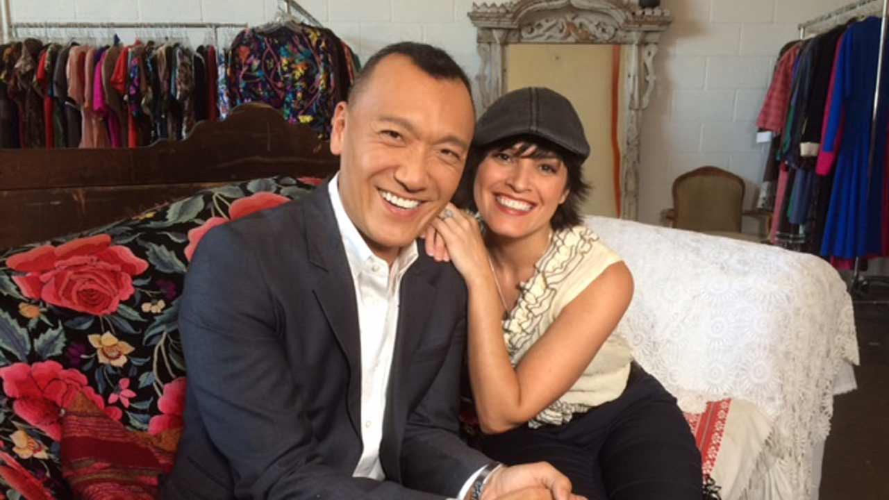 Fashion expert Joe Zee introduces Tina Malave to Shareen, one of his favorite secret shopping spots in downtown Los Angeles.