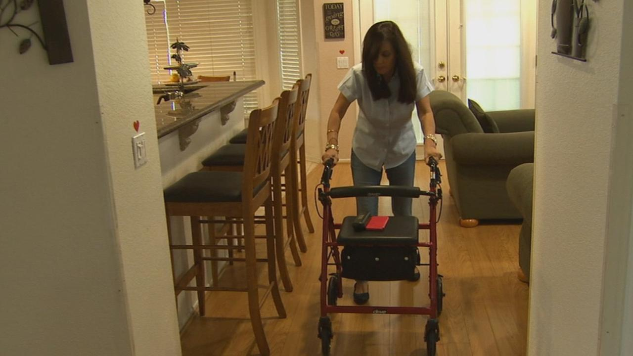 A Chino Hills family is living with a grim reality: a progressively debilitating condition that struck members of their family in the prime of their lives. It starts mysteriously with a stumble and a fall.