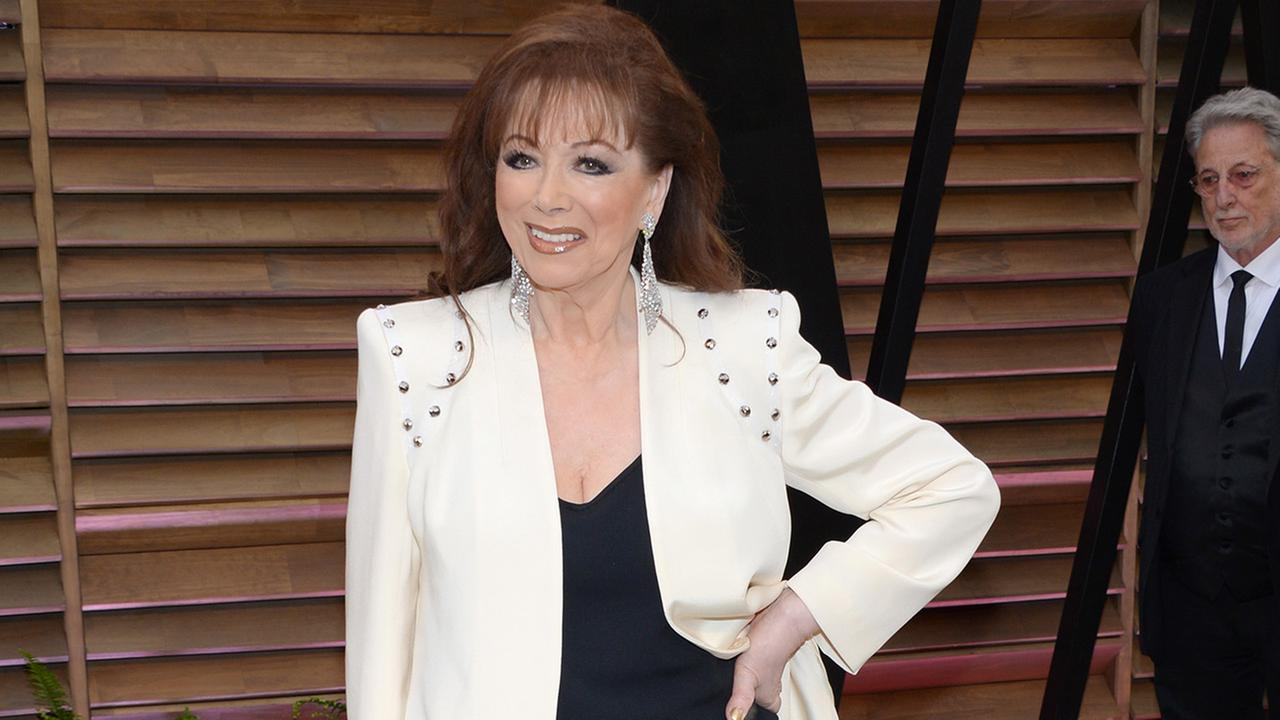 Novelist Jackie Collins died of breast cancer Saturday, Sept. 19, 2015, according to family members. She was 77.Photo by Evan Agostini/Invision/AP
