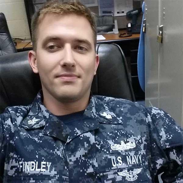 <div class='meta'><div class='origin-logo' data-origin='none'></div><span class='caption-text' data-credit='U.S. Navy'>Electronics Technician 1st Class Charles Nathan Findley, 31, from Missouri.</span></div>