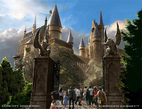<div class='meta'><div class='origin-logo' data-origin='none'></div><span class='caption-text' data-credit='Universal Studios Hollywood'>An artist rendering shows the 'Harry Potter and the Forbidden Journey' ride at  'The Wizarding World of Harry Potter,' slated to open in spring 2016 at Universal Studios Hollywood.</span></div>