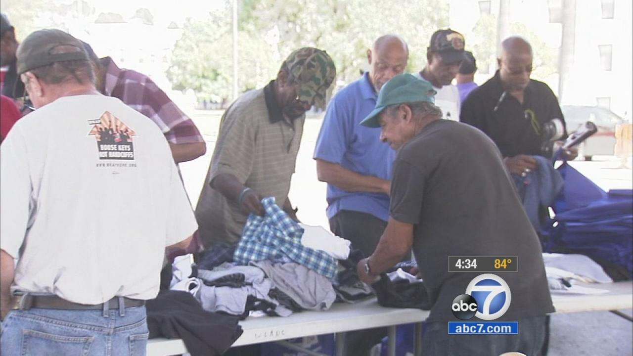Skid Row Town Hall held to learn of homeless veterans needs