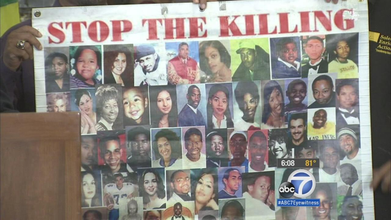 Gangs blamed for most of August murders in South Los Angeles