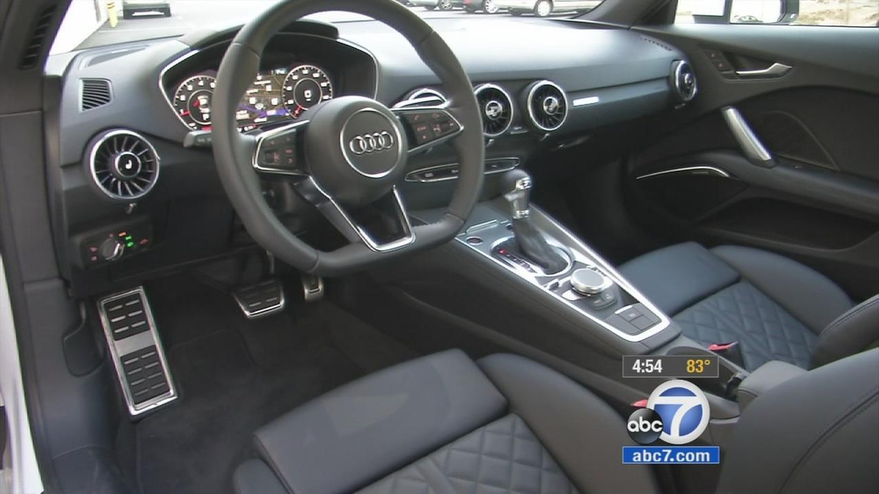 The 2016 Audi TT keeps a modern look.