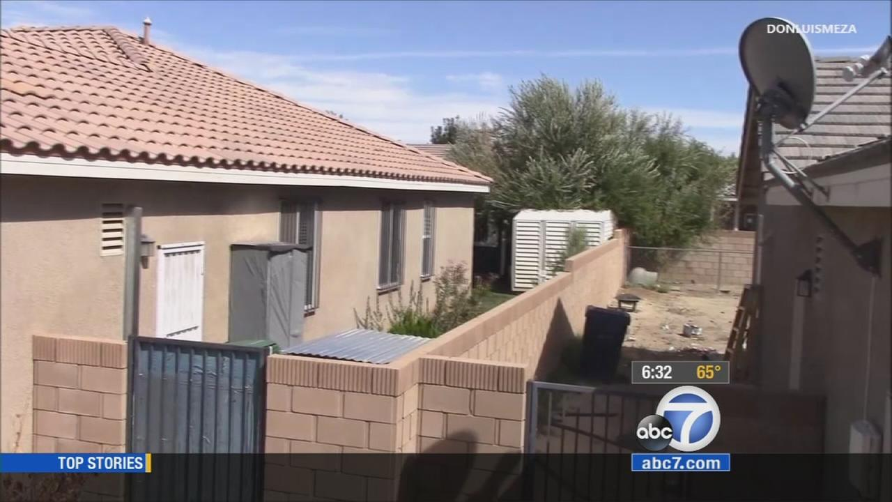 A 61-year-old man and his girlfriend are accused of torturing his sister and locking her in a storage shed in Lancaster, California.