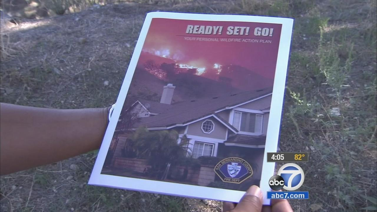 TheReady! Set! Go! evacuation plan was set by fire agencies to help residents prepare for possible blazes in severe drought weather.