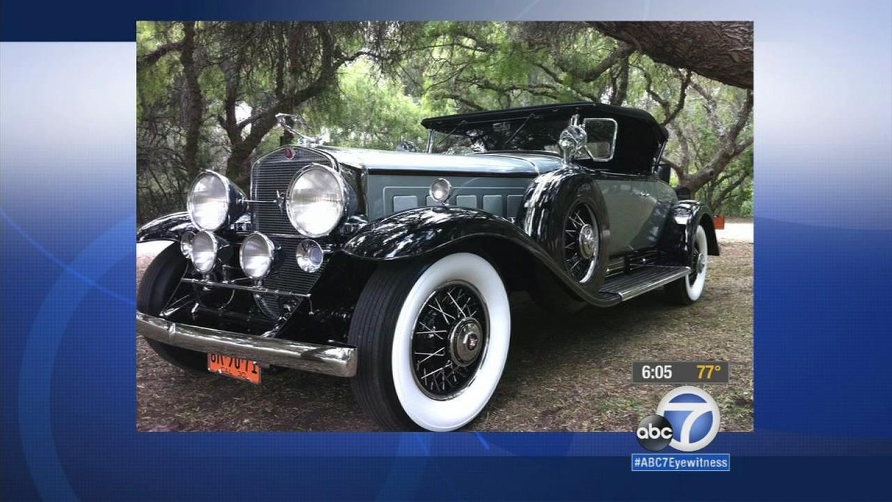 Reward offered for 1930 Cadillac V16 Roadster stolen in Redlands