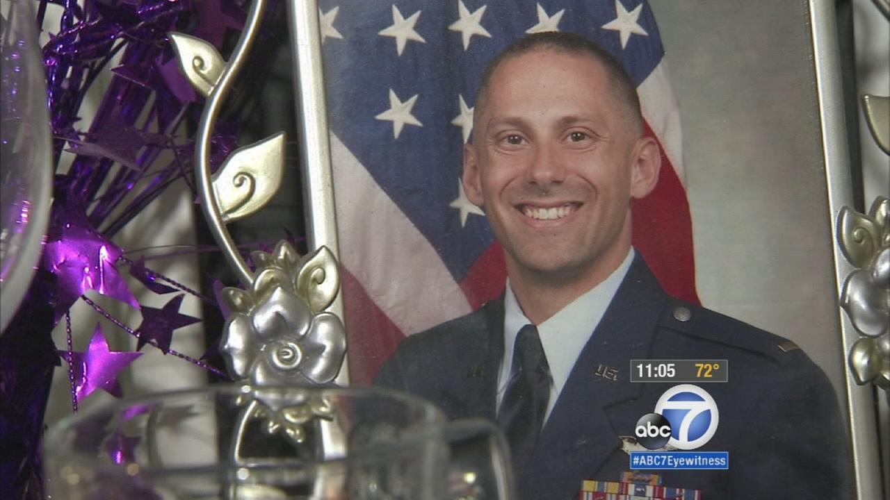 U.S. Air Force Capt. Jonathan Golden is shown in an undated photo in his family members home in Camarillo on Saturday, Oct. 3, 2015.