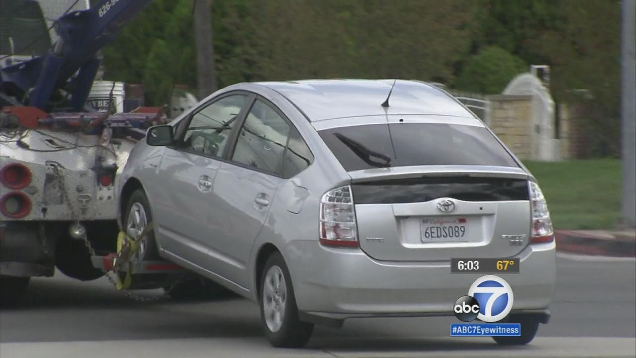 Woman accused of intentionally driving into 2 men in West Covina