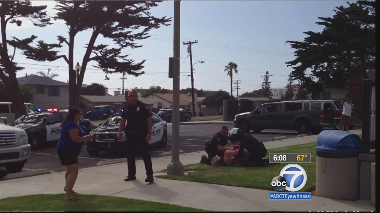 City of Carlsbad sued over alleged assault by police officers