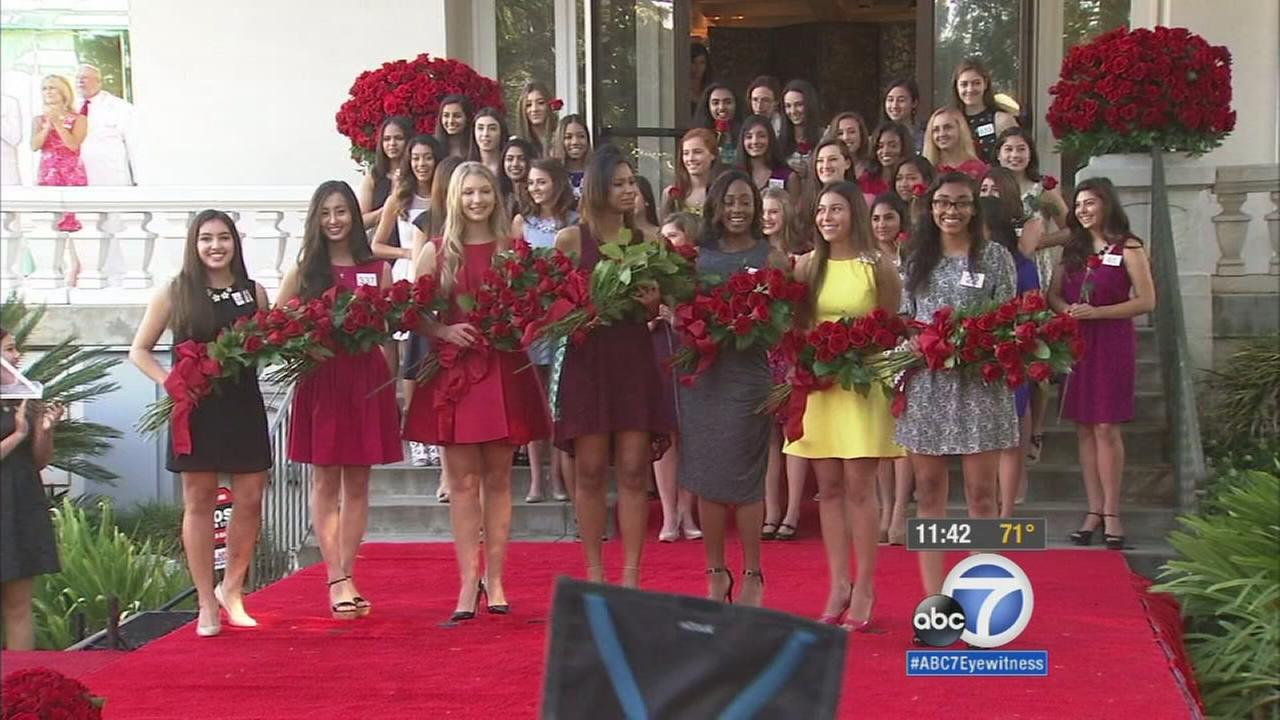 Seven young ladies were selected Monday, Oct. 5, 2015, as the royal court for the 2016 Tournament of Roses Parade.