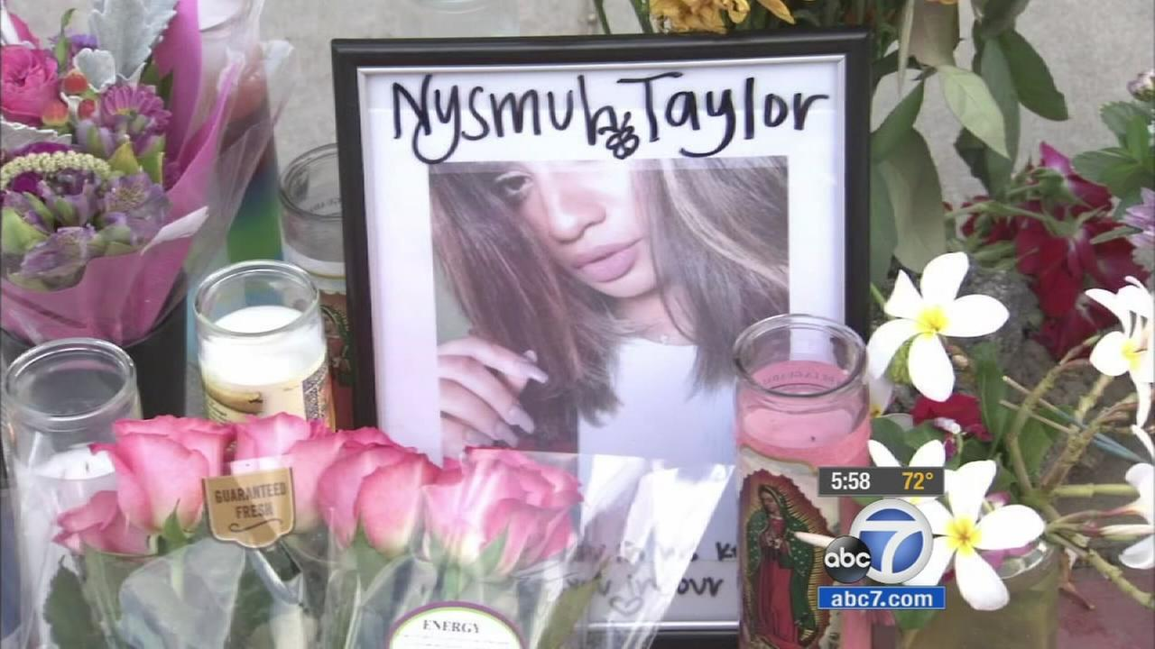 An 18-year-old woman was arrested for the hit-and-run death of 18-year-old Nysbuh Imann Taylor.