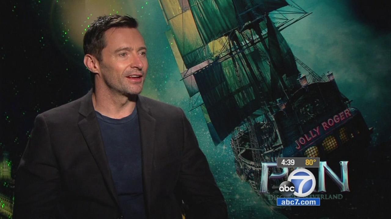 Hugh Jackman transforms himself for Pan movie
