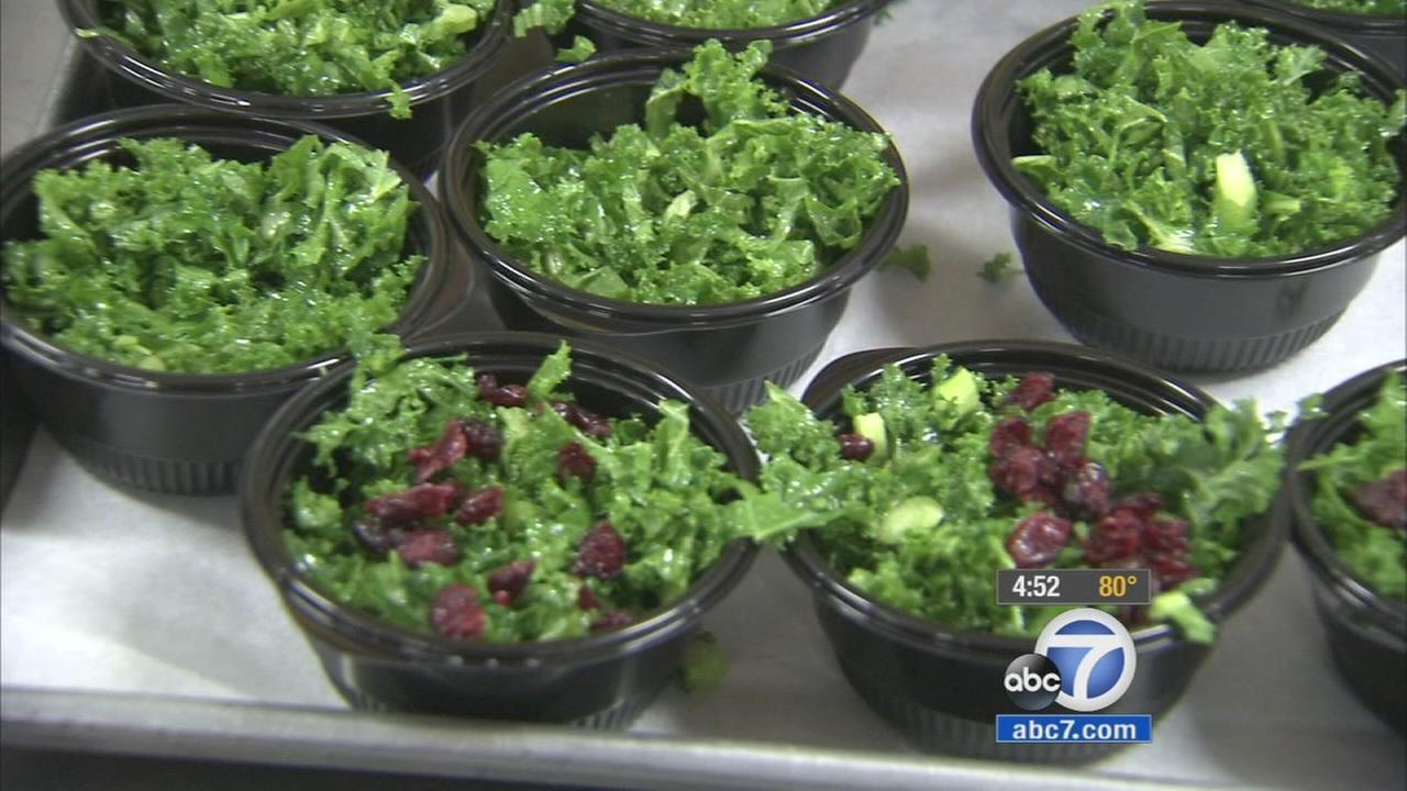 LAUSD students celebrate National Kale Day
