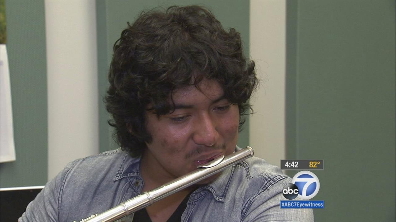 Cool Kid Rogelio Justo inspiring others with musical talent