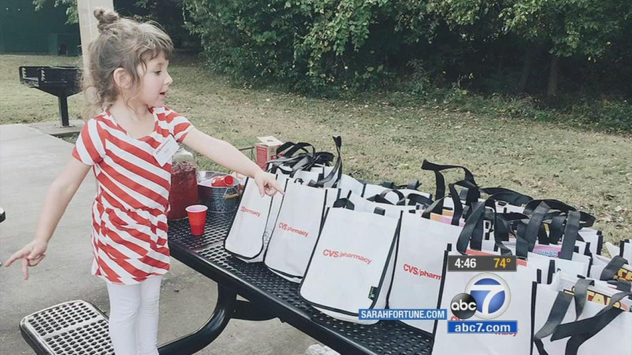 4-year-old girl gets CVS-themed birthday party