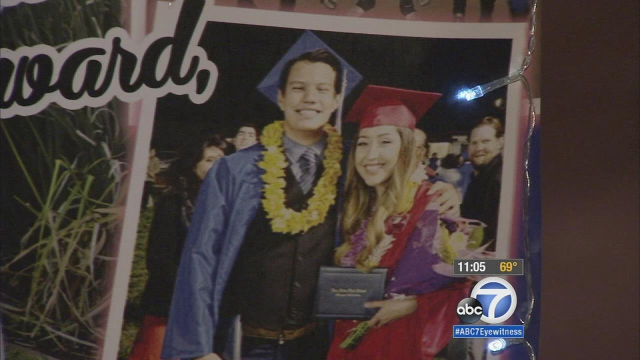 Young couple killed in Hacienda Heights crash mourned at vigil