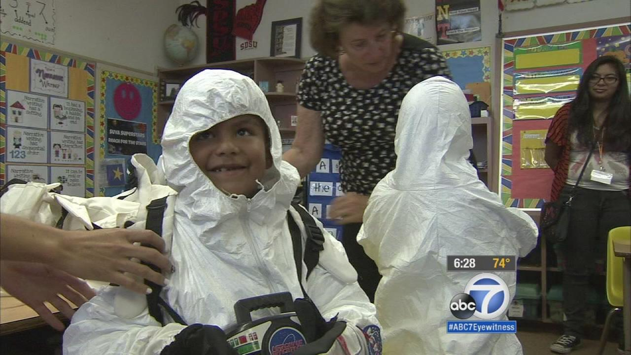 Space Day Provides Out Of This World Experience For Bell Gardens Students