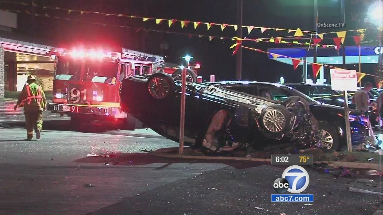 A crash in Hacienda Heights killed a young couple on Oct. 18., 2015.
