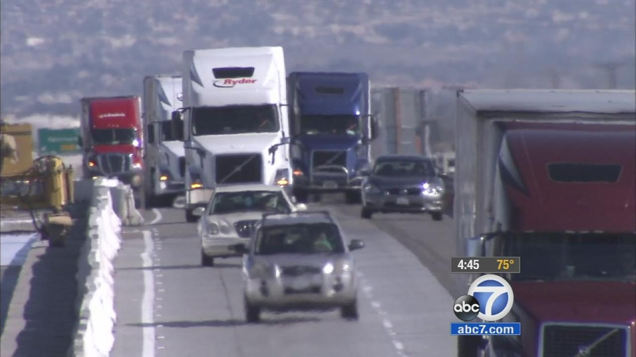 Construction on the 15 Freeway between the Cajon Pass and Barstow has caused heavy traffic for motorists. Caltrans says theyll move the work to nighttime to ease congestion.