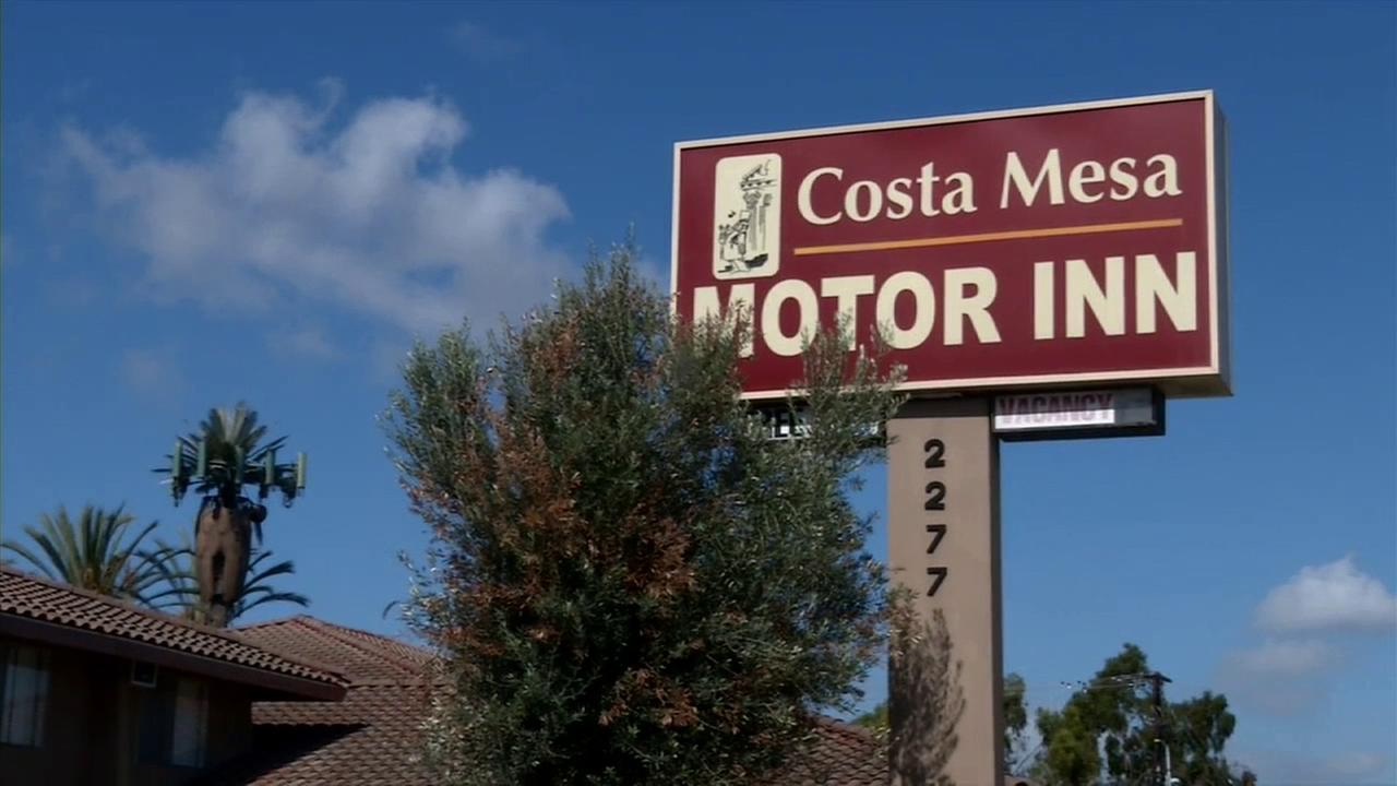 The planned demolition of a motel in Costa Mesa means many families whove made it their home will have to find a new place to live.