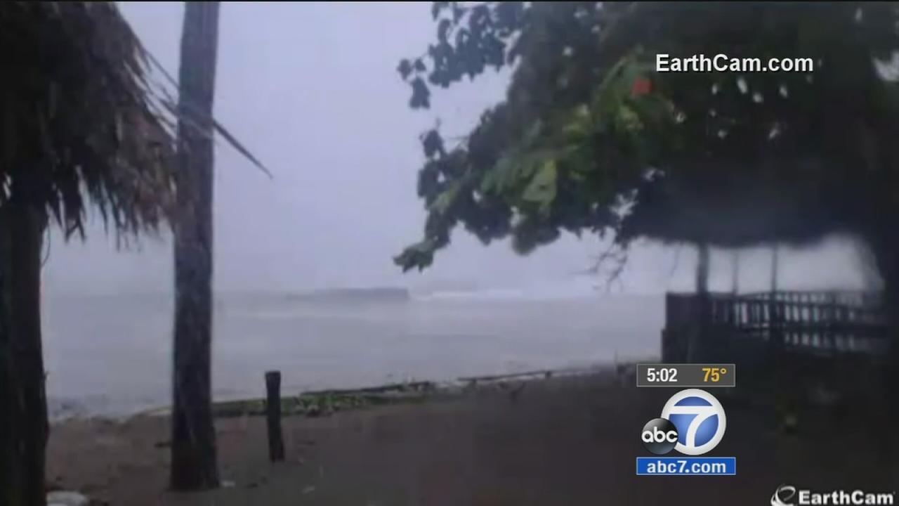 Southern California residents concerned about families in Hurricane Patricias path