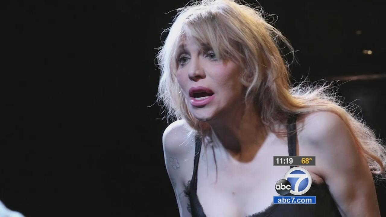 Courtney Love hits the stage, stars in Kansas City Choir Boy
