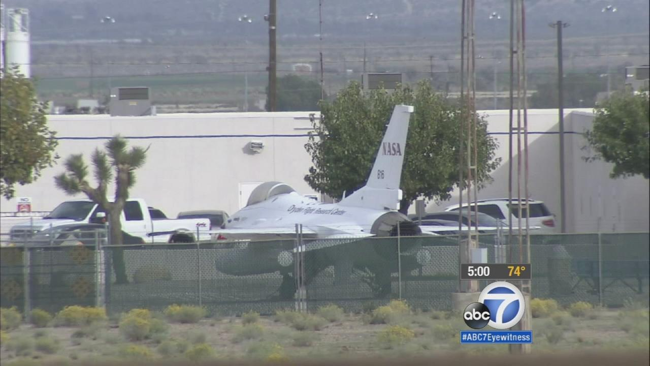 Thousands of jobs are expected to come to U.S. Air Force Plant 42 in Palmdale after the Air Force announced a $55 billion contract with Northrop Grumman on Tuesday, Oct. 27, 2015.