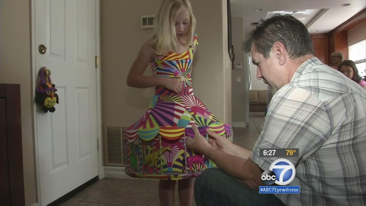 Irvine girls elaborate Halloween costume catches Katy Perrys attention