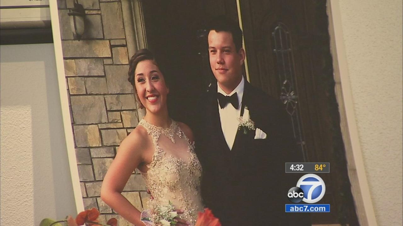 Service held for young couple killed in Hacienda Heights crash