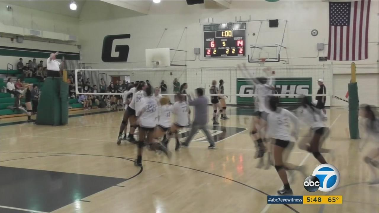 110515-kabc-5pm-el-camino-volleyball-vid